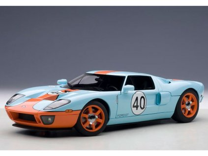 Ford GT # 40 2005 Gulf Color modro-oranžová 1:18 Auto Art