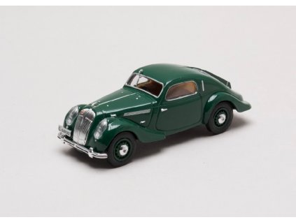 Skoda Popular Sport Monte Carlo 1935 zelena Mechova 1 43 Abrex 143ABH 903HG 01