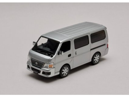 Nissan Caravan E25 stribrna 1 43 Jcollection 80001SL 01