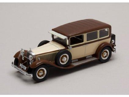 Mercedes Benz Nurburg 460 Pullman Limousine 1929 bezovo vinova 1 43 Champion 01