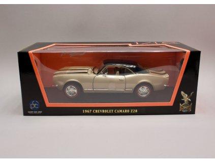 Chevrolet Camaro Z28 1967 zlatá černá střecha 1 18 Lucky Die Část 92188 01