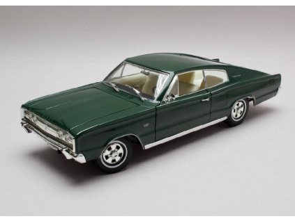 Dodge Charger 1966 tm zelena 1 18 Lucky Die Cast 92638 01