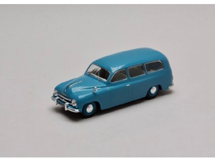 Skoda 1201 Kombi 1954 modra 1 43 WhiteBox WB283 01
