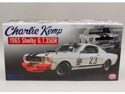 Ford Mustang Shelby GT350 1965 #23 Charlie Kemp 1 18 ACME 1801812 01