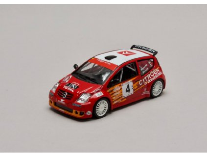 Citroen C2 S1600 #4 Rally Targa Florio 2004 1 43 Champion 01