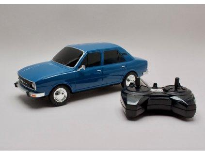 Skoda 120L modra RC model 1 14 Abrex RCR02k 01