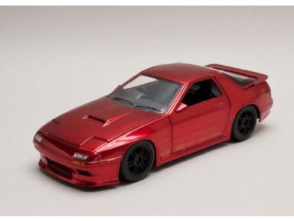 Mazda RX 7 1985 met cervena 1 24 Jada Toys 30941 01