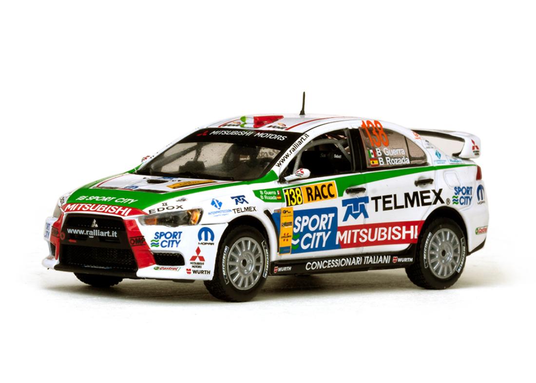 Mitsubishi Lancer EVO X #138 Rally RACC Catalunya 2012 1:43 Vitesse
