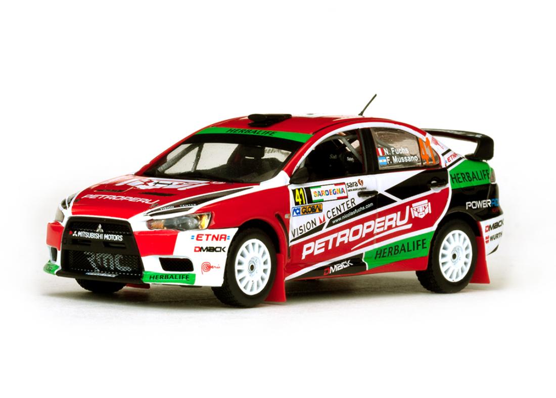 Mitsubishi Lancer EVO X #41 Rally Italia 2013 1:43 Vitesse