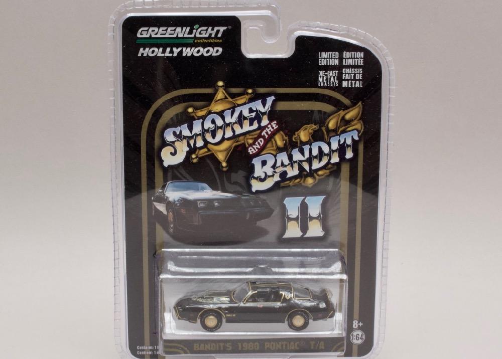Pontiac Trans Am 1980 - Smokey and the bandit II 1:64 Greenlight