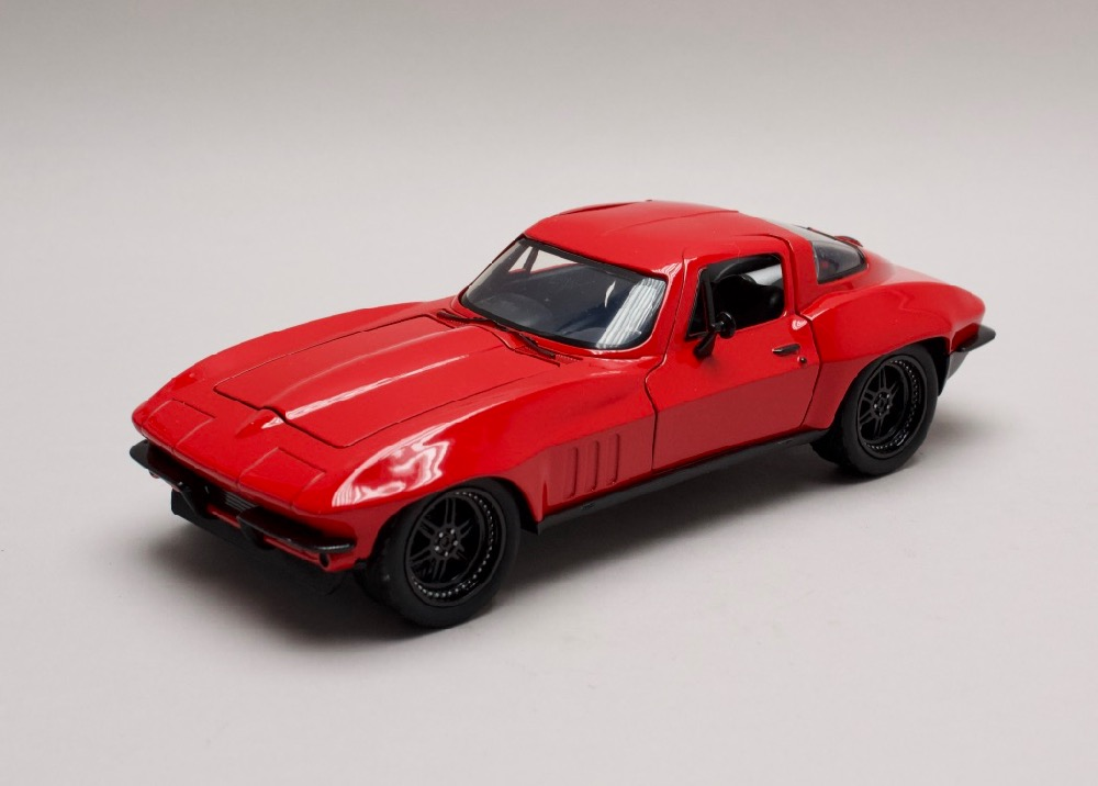 Chevrolet Corvette Letty`s Rychle a zb. (Fast & Furious) 1:24 Jada Toys