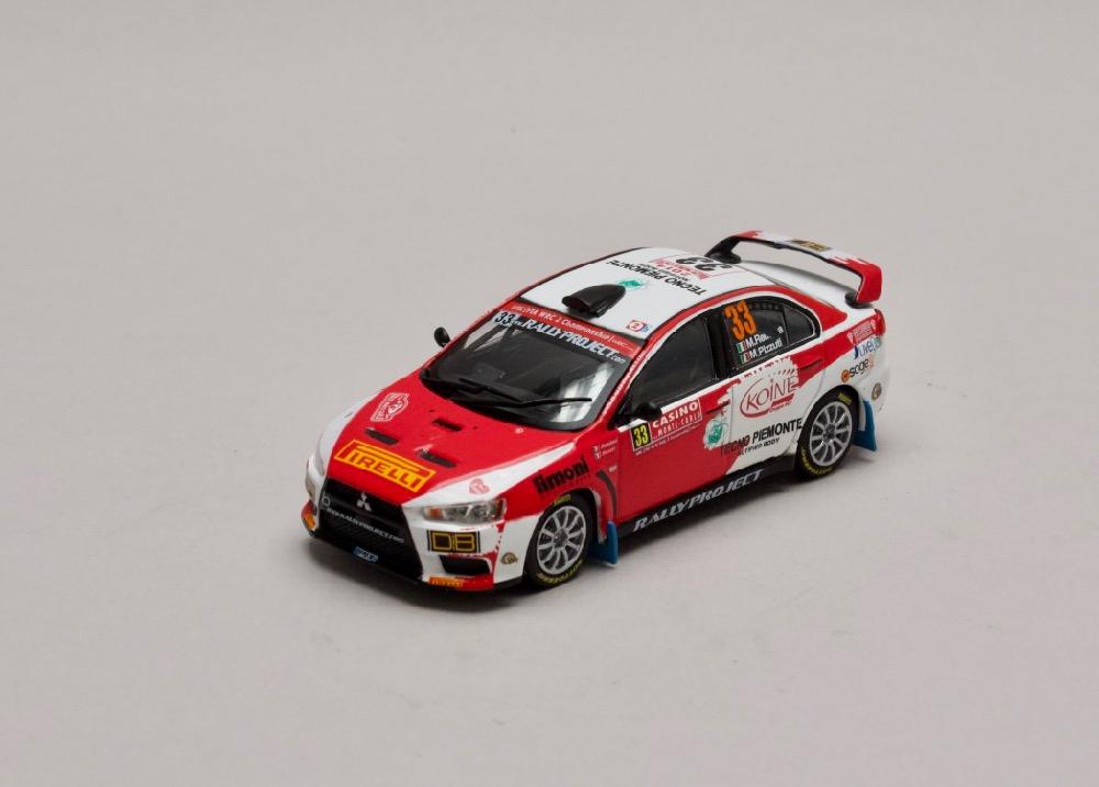Mitsubishi Lancer EVO X #33 Rally Monte Carlo 2014 1:43 Champion