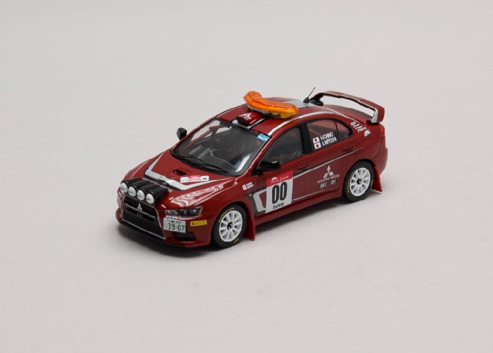 Mitsubishi Lancer EVO X Rally Japan #00 Safety Car 2007 1:43 IXO