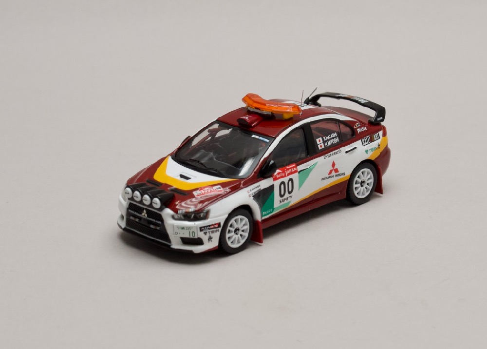 Mitsubishi Lancer EVO X Rally Japan #00 Safety Car 2008 1:43 IXO