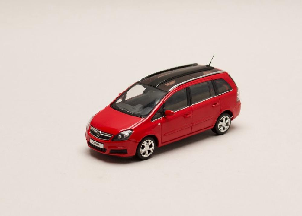 Opel Zafira červená 1:43 Minichamps