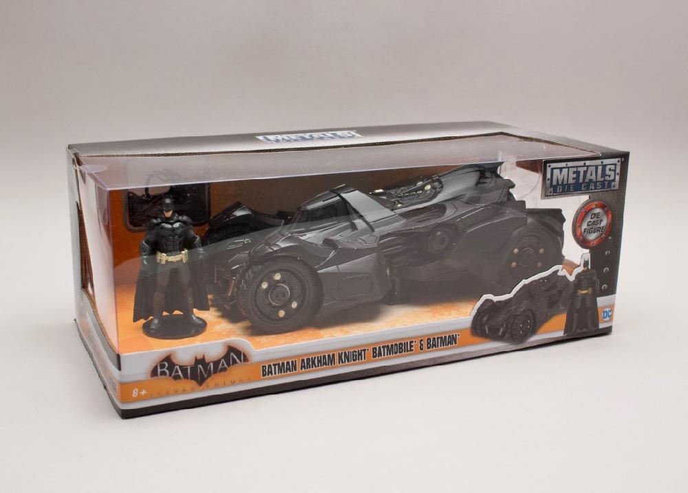 "Batmobile ""Arkham Knight "" 2015 + figurka 1:24 Jada Toys"