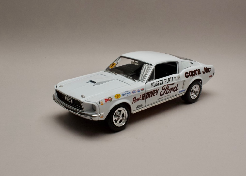 "Ford Mustang S/S Cobra Jet 1968 ""Hubert Platt"" 1:18 Auto World"