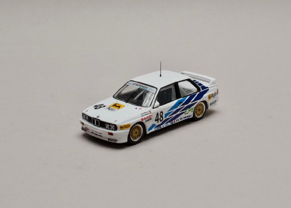 BMW E30 M3 #48 WTCC 1987 1:43 IXO
