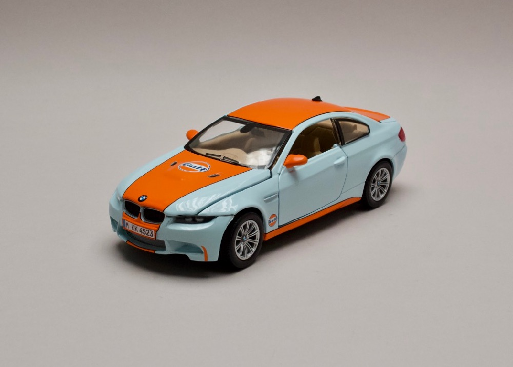 BMW M3 Coupe Gulf serie 1:24 Motor Max