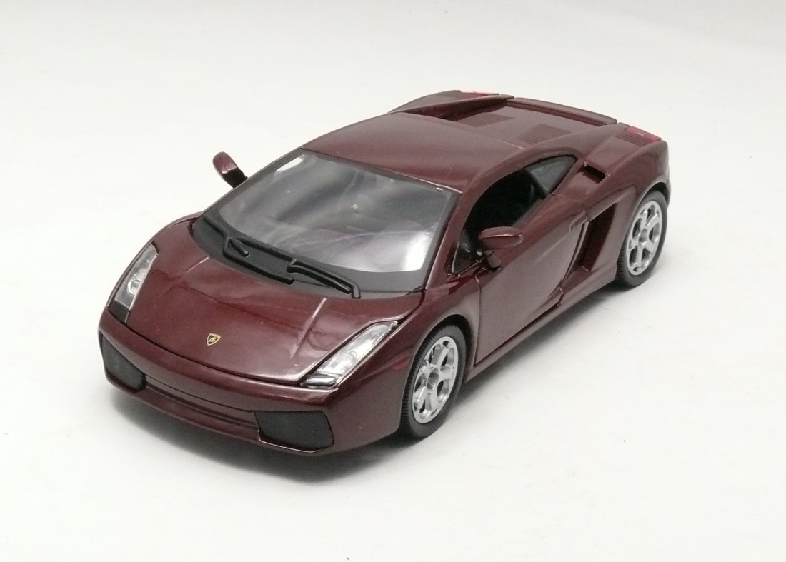 Lamborghini Gallardo hnědovínová 1:24 Bburago