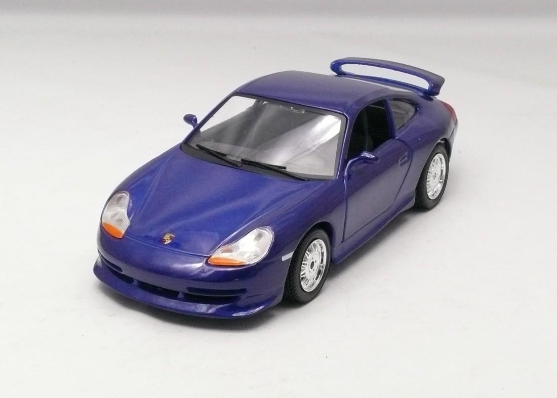 Porsche GT3 2006 modrá 1:24 Bburago