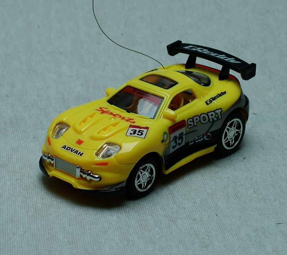 Sport Racing RC # 35 GREDDY žlutá