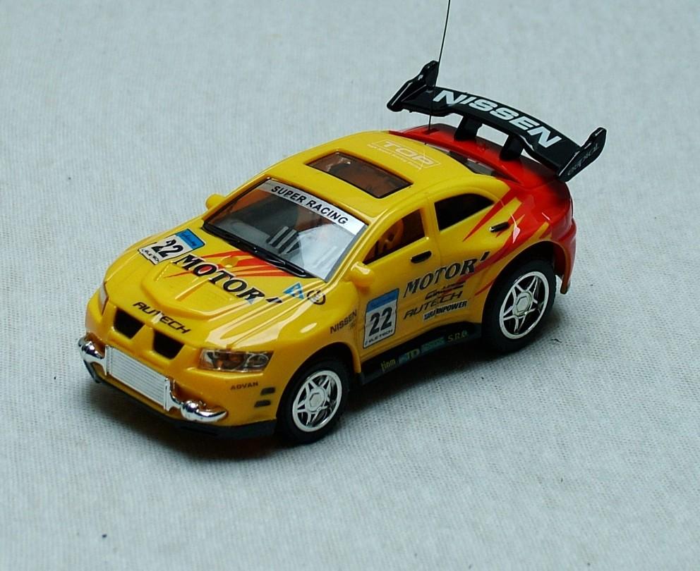 Sport Racing RC # 22 NISSEN, žluto-červená