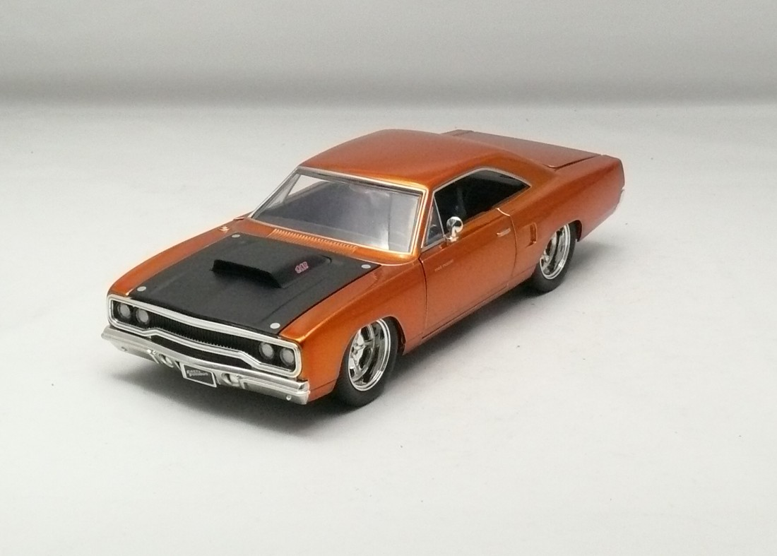 Plymouth Road Runner 1970 Dom`s Rychle a zb.7 1:24 Jada Toys