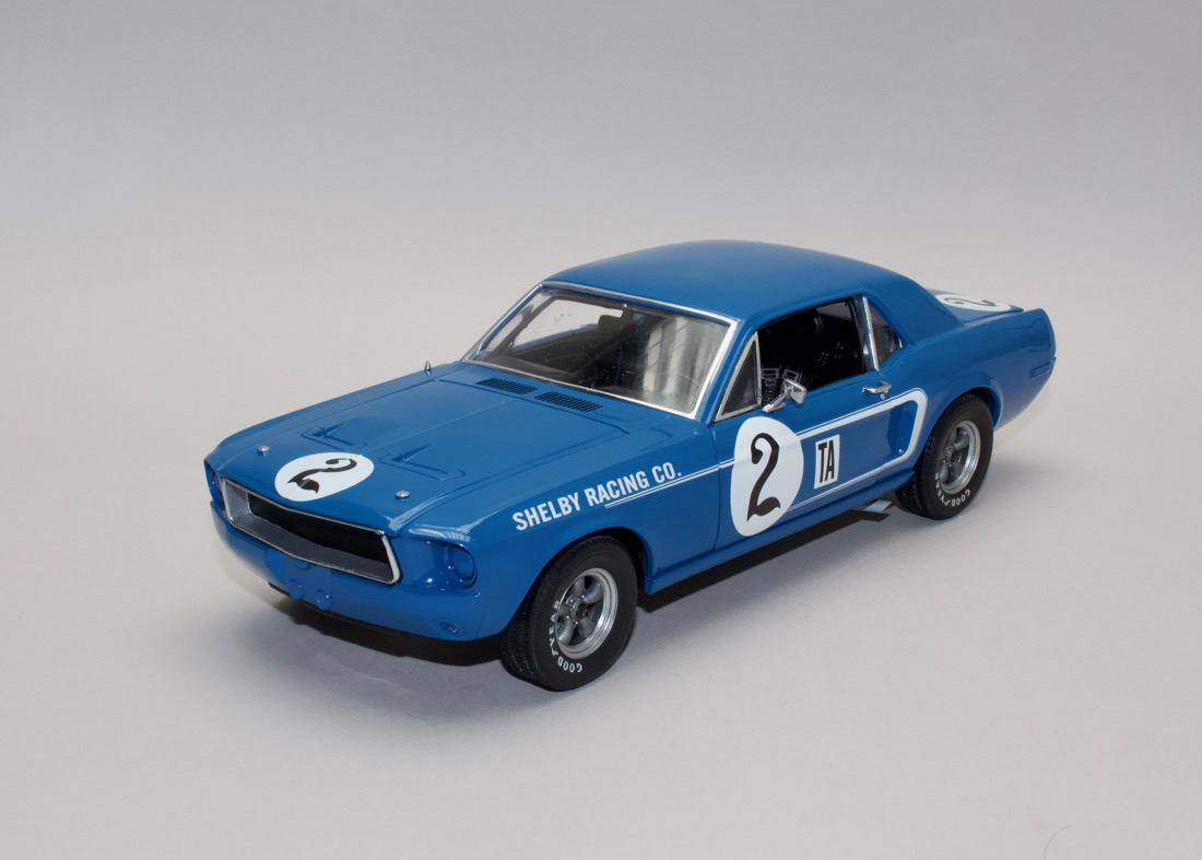 Ford Shelby Mustang 1968 #2 Dan Gurney Racing 1:18 ACME