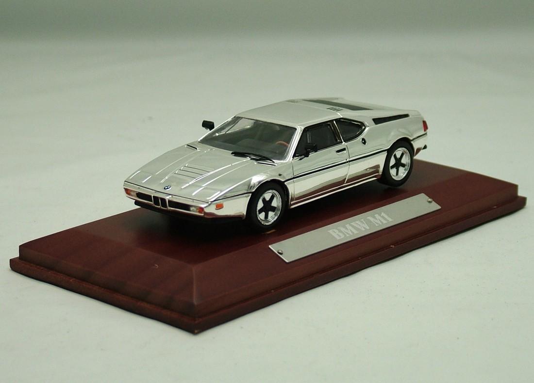 BMW M1 1978 chrom 1:43 DeAgostini