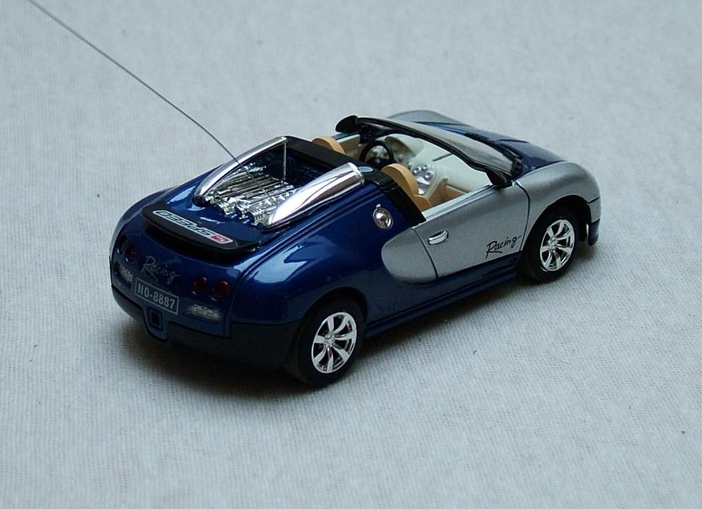 Racing Z RC model 01 modro-stříbrná