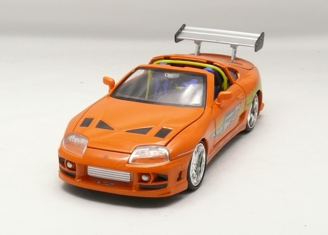 Toyota Supra 1995 Brian¨s Rychle a zb. 1:24 Jada Toys