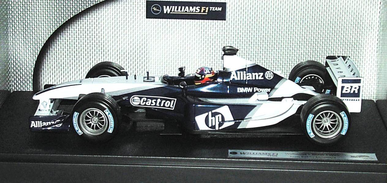 Williams BMW FW25 F1 2003 1:18 Hot Wheels