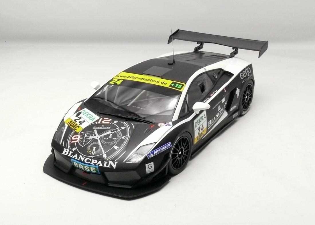 Lamborghini Gallardo LP-600 + GT3 # 24 2011 1:18 Minichamps