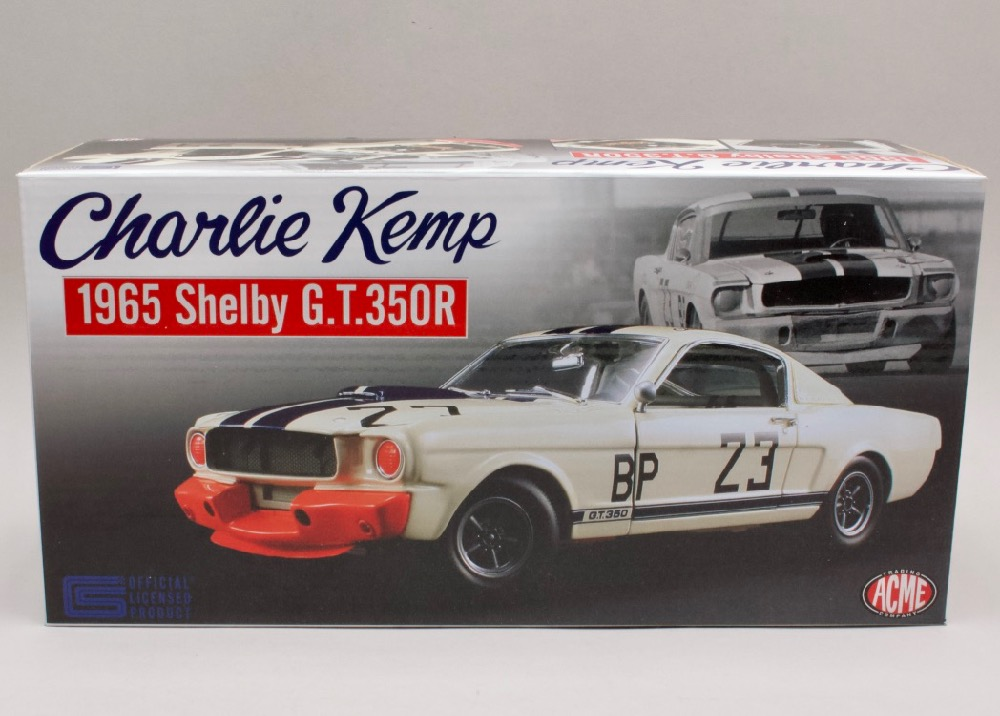 Ford Mustang Shelby GT350 1965 #23 Charlie Kemp 1:18 ACME