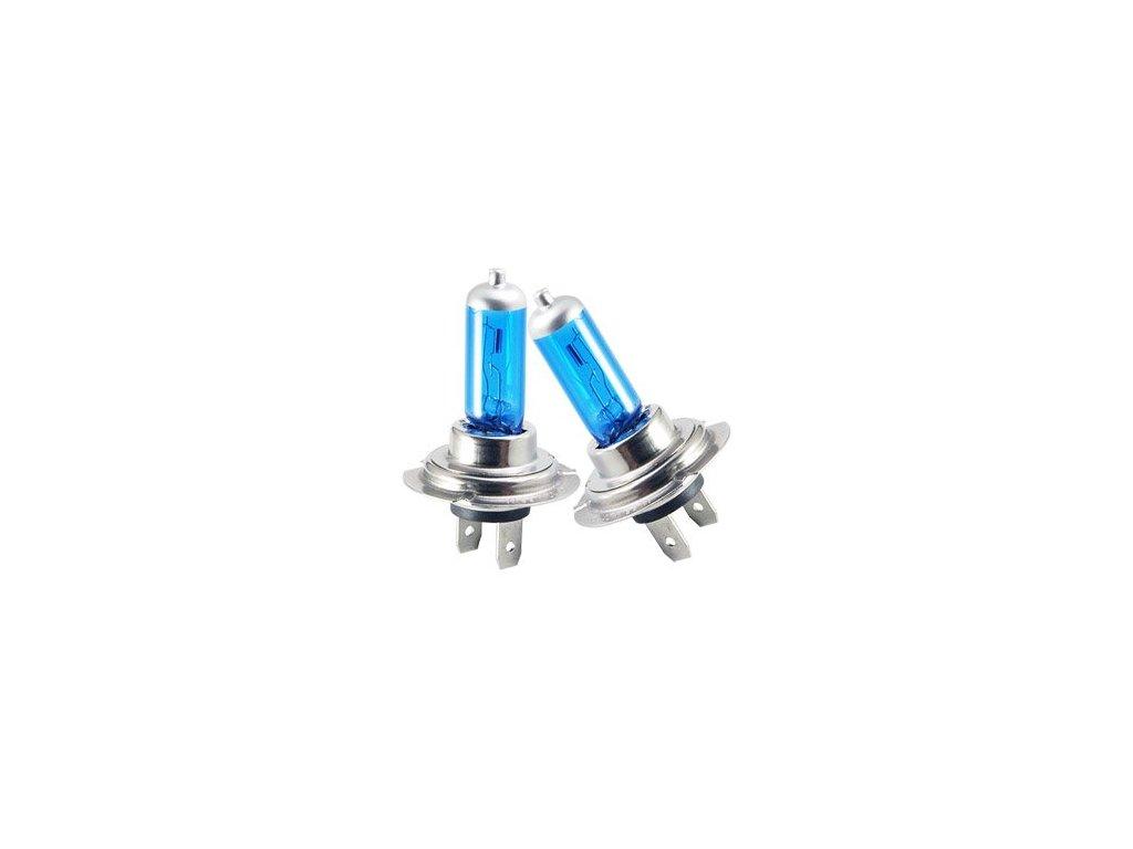 Žárovka 12V 100W H7 modrá sada  HBL