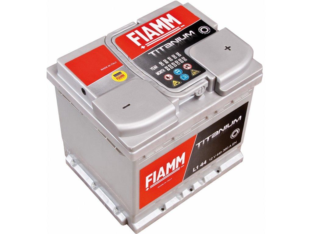 FIAMM 12V 44Ah Titanium 360A