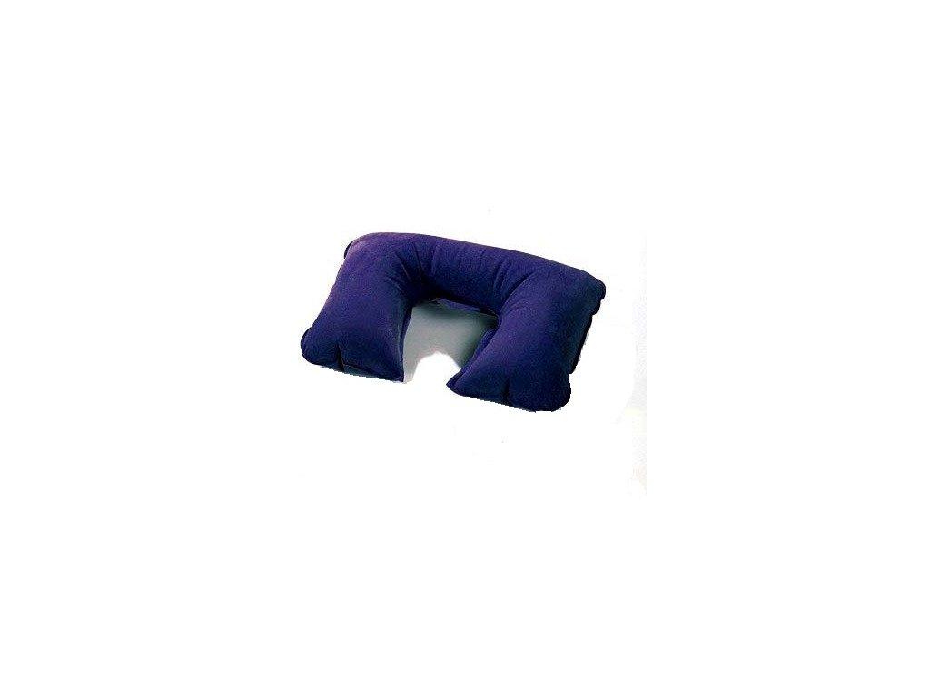 Nafukovací cestovní polštářek modrý  LAMPA / IT