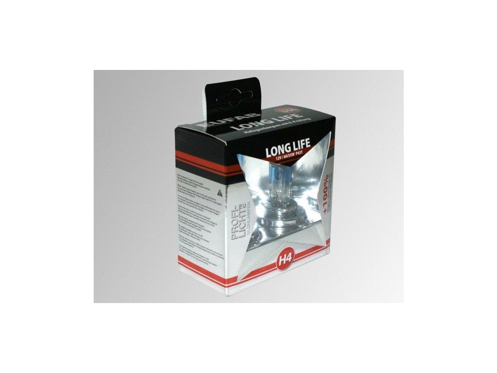 Autožárovky EUFAB H4 Long Life - 2ks v luxusní krabičce