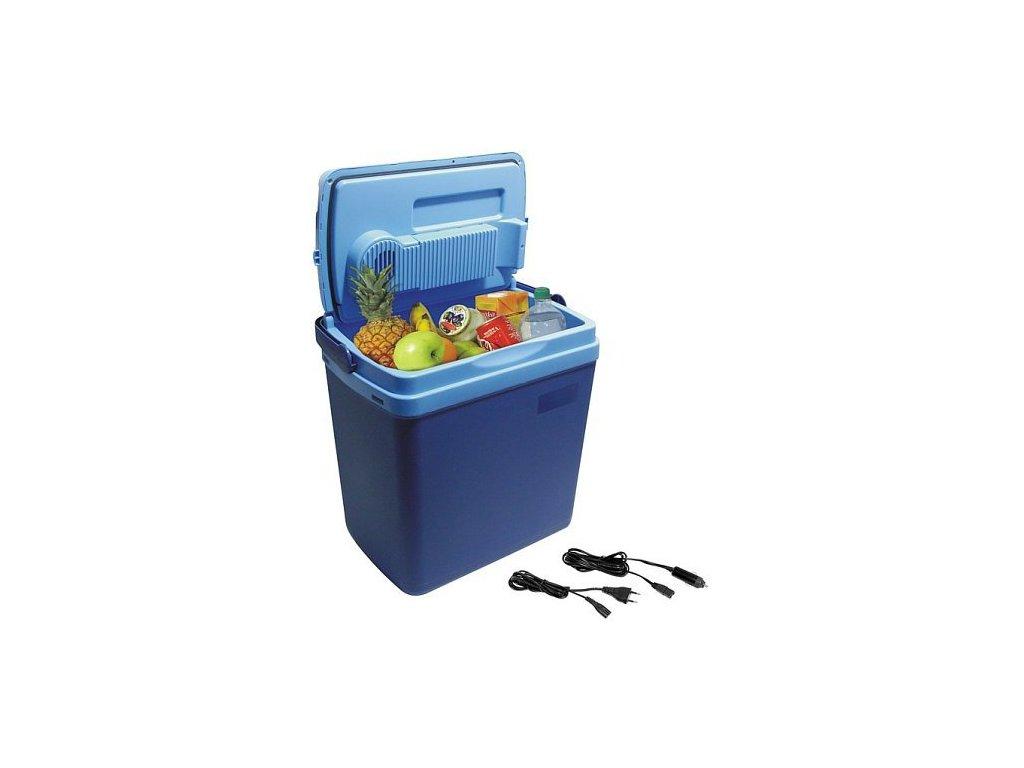 Chladící box 25litrů BLUE 220/12V displej s teplotou