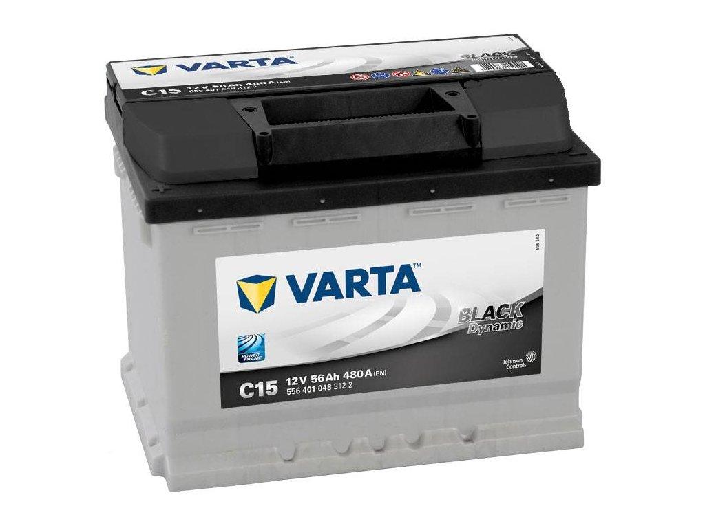 Varta 12V 56Ah EN black dynamic L+