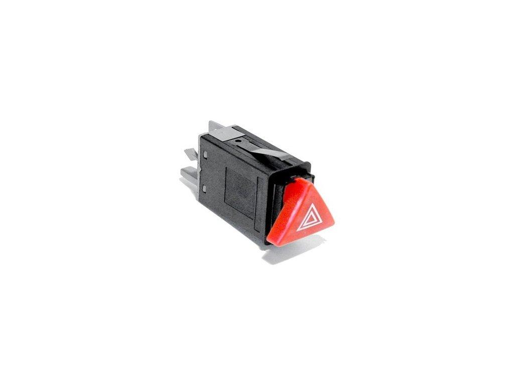 Spínač varovných světel OCTAVIA červený od 9/2000  N.V (1U0953235B47H, 1U0953235B 300)