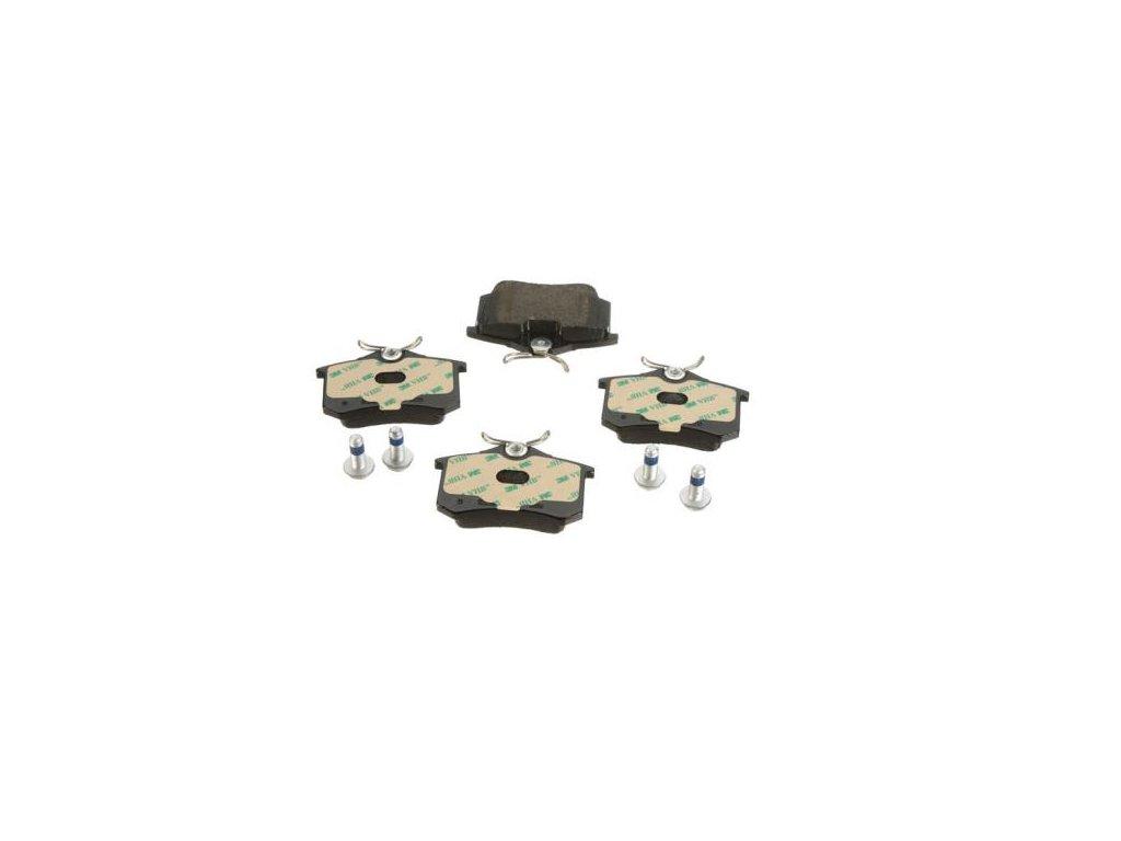 Brzdové destičky zadní OCTAVIA II  ZIMMERMANN/D (1K0698451J, 1K0698451C, JZW698451)