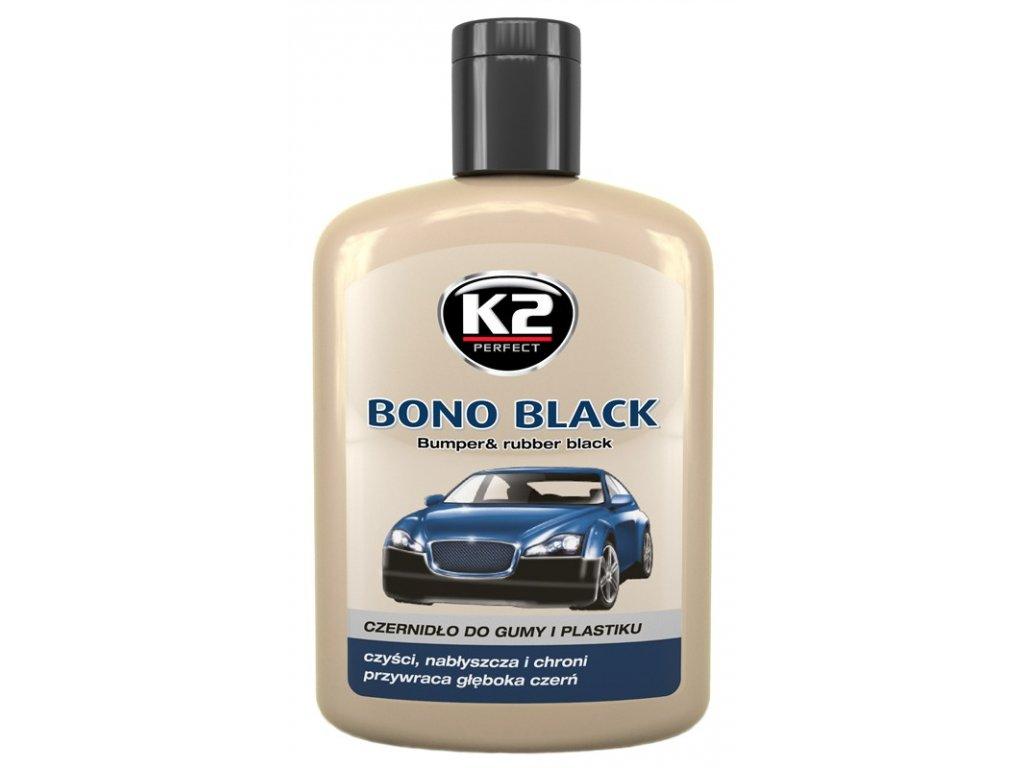 K2 BONO BLACK 200 ml - pasta na vnější plasty