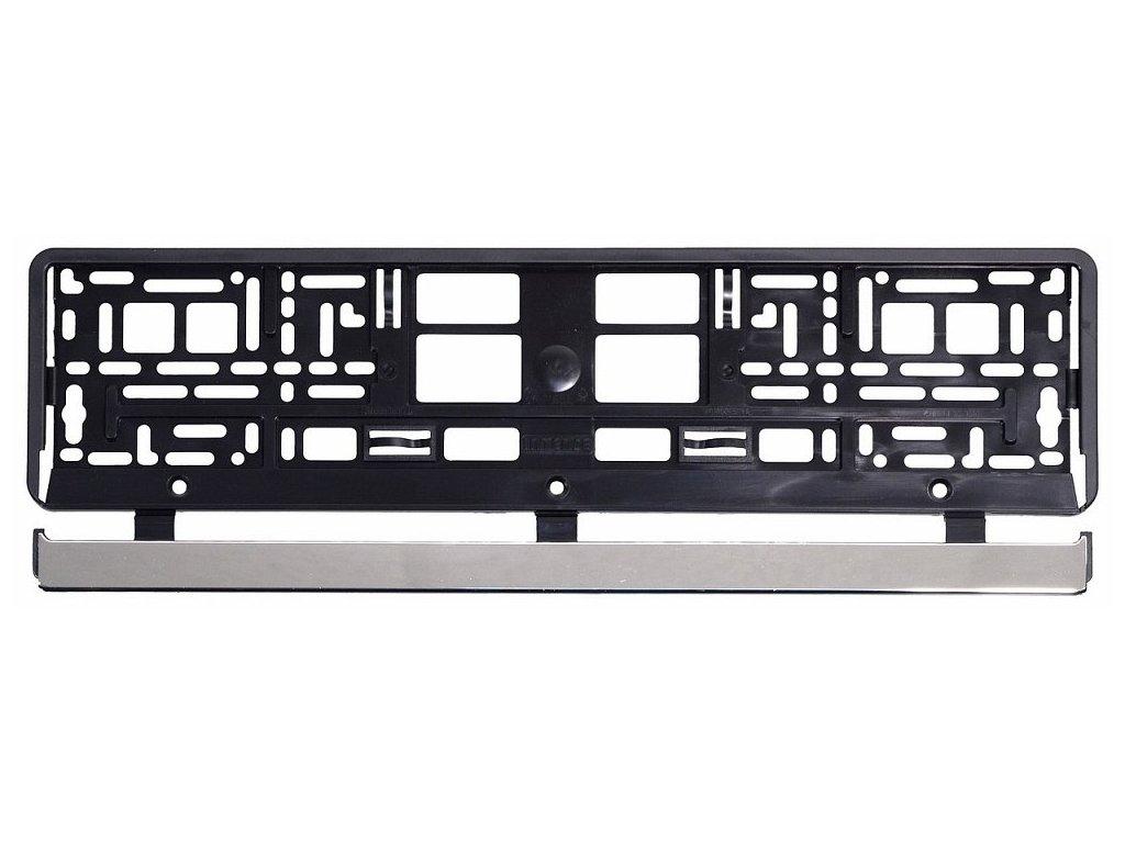 Podložka SPZ VIO CHROM - BLACK CAR   (am61517)