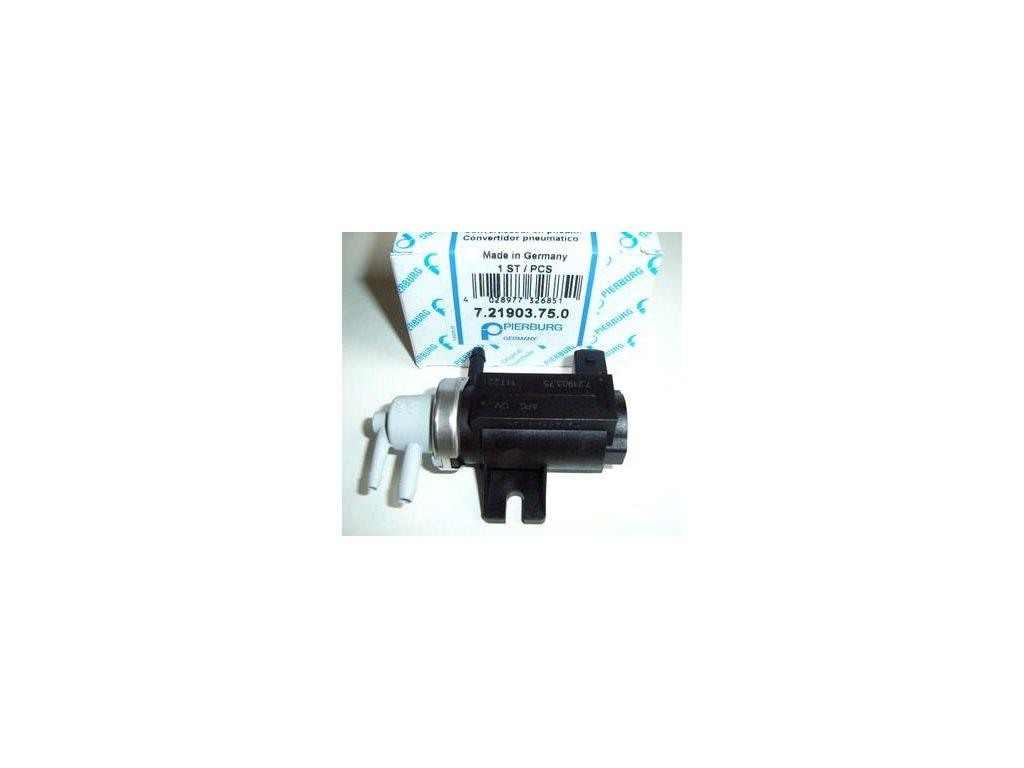 Měnič tlaku zpětného vedení zplodin OCT/GOLF 81KW DO M2000  D+ (1H0906627A,  1J0906283A)