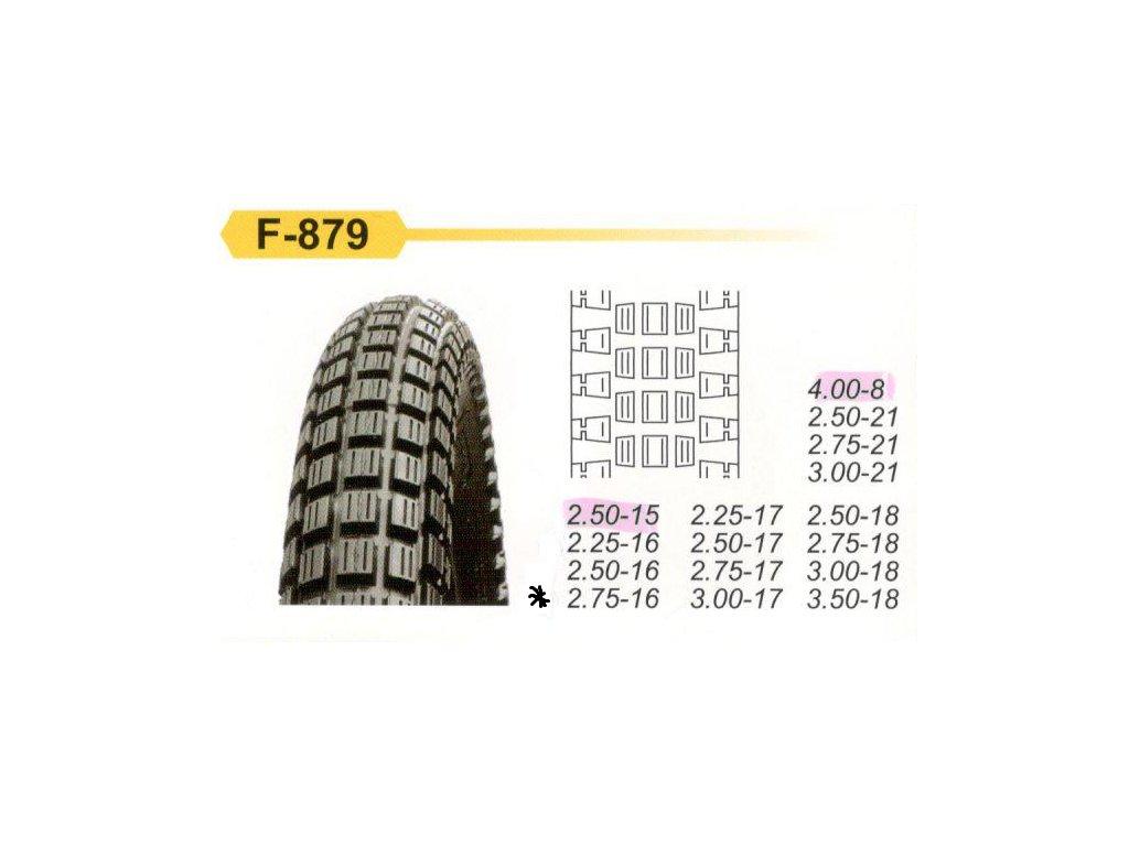 F 879 2,75 164pr