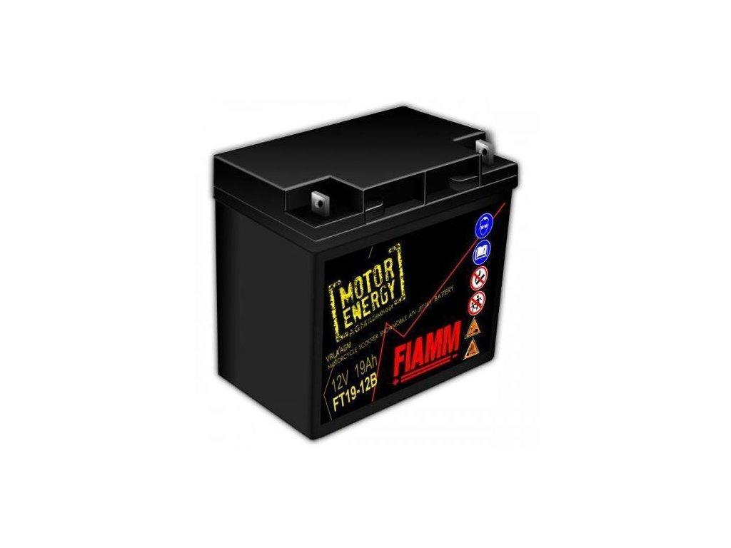 Baterie FIAMM 12V 19Ah FT19-12B  gelová