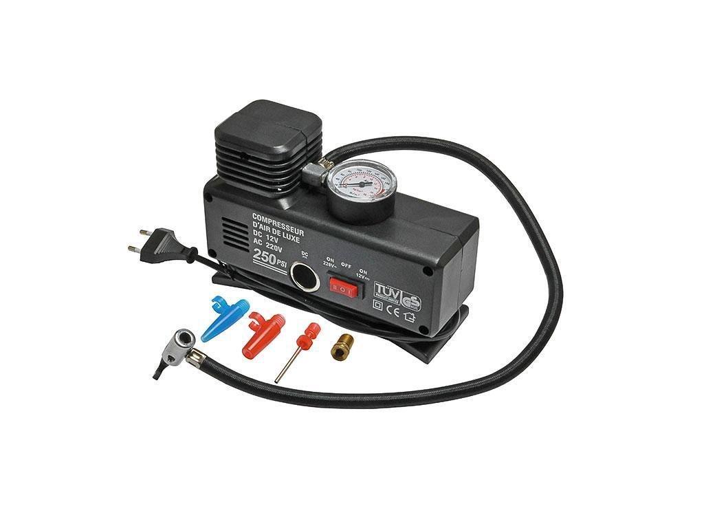 Kompresor 12V / 230V 250 PSI  max. 18 bars   PL