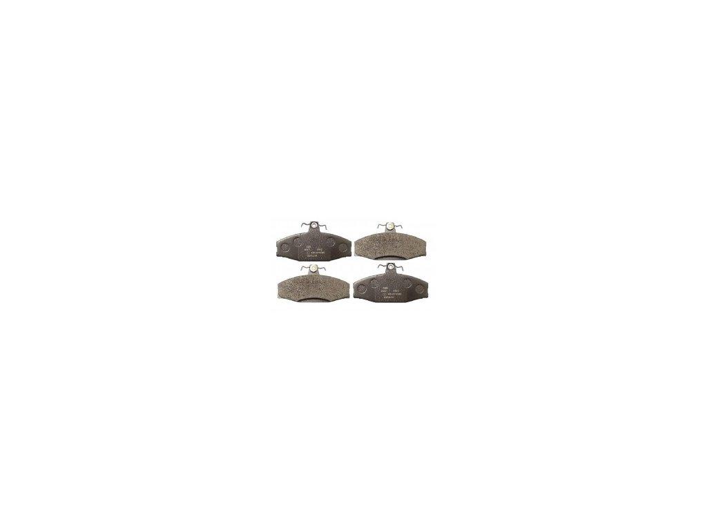 Brzdové destičky přední FAV/FEL   STAR / N.V (115430281, 6U0698151E, 6U0698151D 004532247A, 004532247P, 115430284, 115430285)